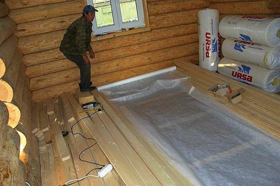 Как утеплить пол в деревянном доме, чтобы было тепло 1
